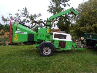 GREENMECH CHIPPER TRAILED diesel 6 inch roller fee