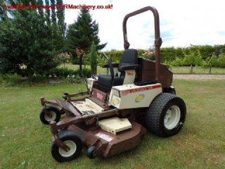 GRASSHOPPER 428D zero turn RIDE ON DIESEL MOWER