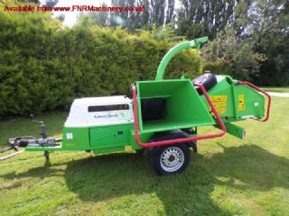SOLD!!! GREENMECH ECHO COMBI 150 CHIPPER / SHREDDE