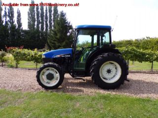 NEW HOLLAND TN75D TRACTOR
