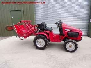 HONDA MIGHTY 130D TRACTOR AND ROTAVATOR
