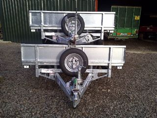 SOLD!!! IFOR WILLIAMS FLAT BED TWIN AXLE 3.5 TON T