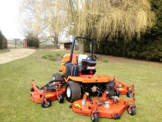 SOLD!!! JACOBSEN 5111 BATWING ROTARY RIDE ON MOWER