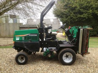 SOLD!!! RANSOMES 2130 HIGHWAY RIDE ON DIESEL MOWER