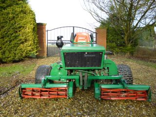 SOLD!!! RANSOMES 180 TRIPLE RIDE ON MOWER 3 WHEEL