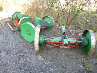 SOLD!!! RANSOMES 5 GANG TRAILED MOWER