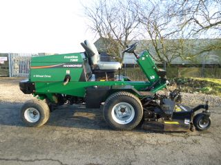 SOLD!!! RANSOMES FRONTLINE 728D RIDE ON ROTARY MOW