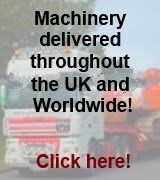 FNR Machinery delivers throughout the UK and Worldwide, get a quote!