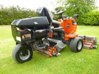 SOLD!!! JACOBSEN GREENS KING IV PLUS RIDE ON MOWER