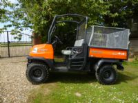 SOLD!!! KUBOTA RTV 900 TRUCK 4X4 DIESEL POWER TIP