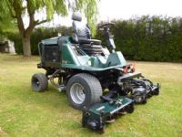 SOLD!!! HAYTER LT322 TRIPLE GANG MOWER
