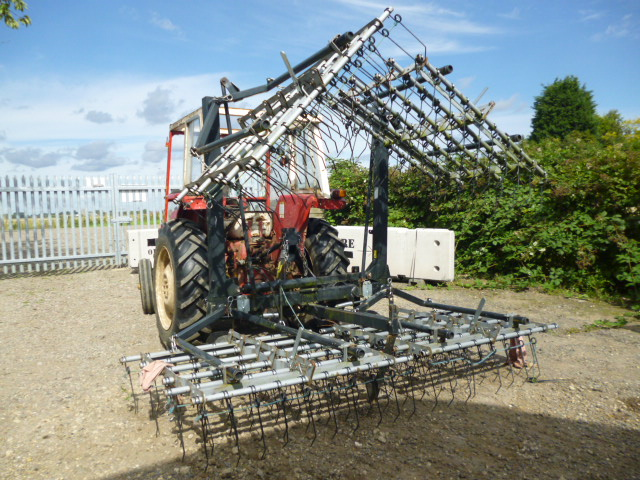 SOLD!!! CAMPEY 4500 ATTACHMENTS HARROWS GROUNDCARE