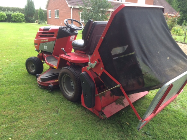 SOLD!!! COUNTAX K18 50 RIDE ON MOWER TRADE IN