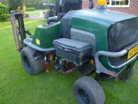 sold ! HAYTER LT322 Triple Gang Mower  DIESEL
