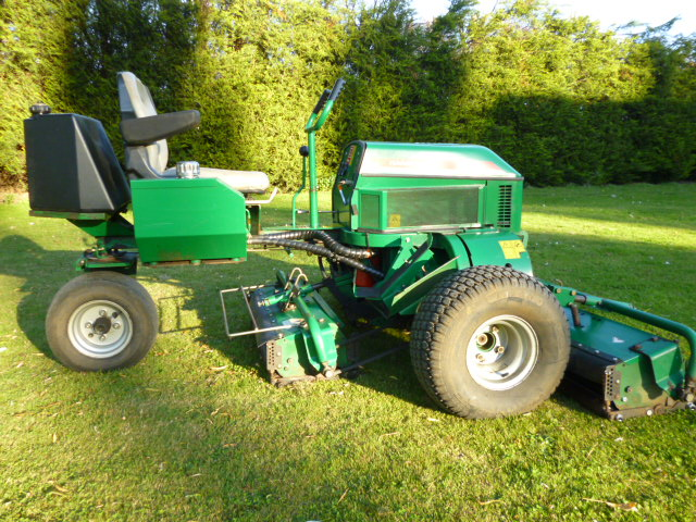 SOLD!!! RANSOMES 180 RIDE ON MOWER PETROL SERVICED