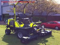 SOLD!!! HAYTER LT324 RIDE TRIPLE MOWER 4WD KUBOTA