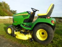 SOLD!!! JOHN DEERE X740 54 MOWER RIDE ON DIESEL