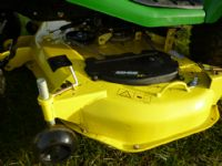 SOLD!!! JOHN DEERE X740 54 MOWER RIDE ON DIESEL