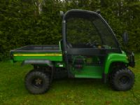 SOLD ! JOHN DEERE HPX GATOR  4X4 CAGE UTILITY