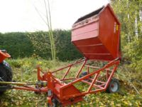 TOMLIN RC180 LEAF COLLECTOR GROUNDCARE ATTACHMENT