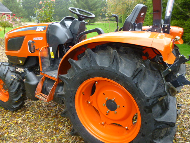 SOLD!!! KIOKI NX5010 50HP TRACTOR EXDEMO 71 HOURS