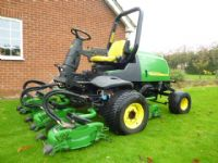 SOLD!!! JOHN DEERE 3245C 5 ROTARY FAIRWAY MOWER
