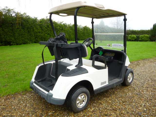 SOLD!!! EZ GO GOLF BUGGY BATTERY POWER 2 SEATER