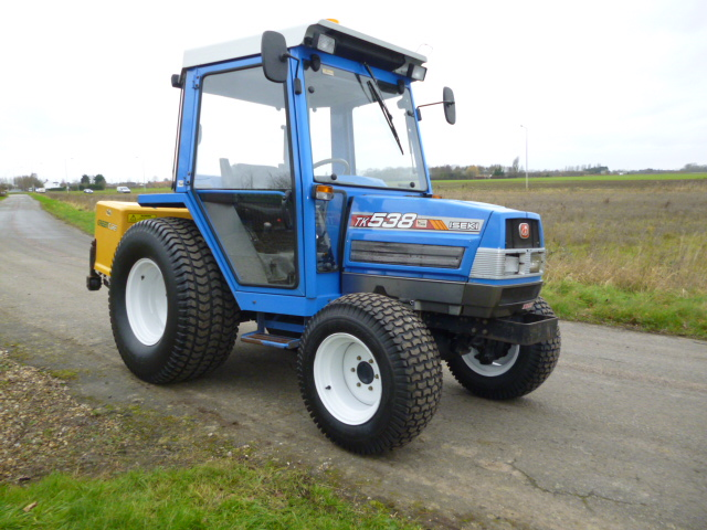 SOLD!!! ISEKI TK 538 COMPACT TRACTOR 4X4 DIESEL for sale, FNR Machinery