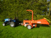 SOLD!!! CAMON C250 CHIPPER 5 I DIESEL TOWED FEEDER