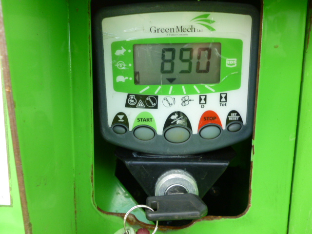 SOLD!!! GREENMECH WOOD CHIPPER ON TRACKS DIESEL