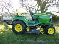 SOLD!!! JOHN DEERE X748 RIDE ON MOWER