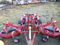 sold ! PROGRESSIVE 12FT FINISHING MOWER 3 DECK
