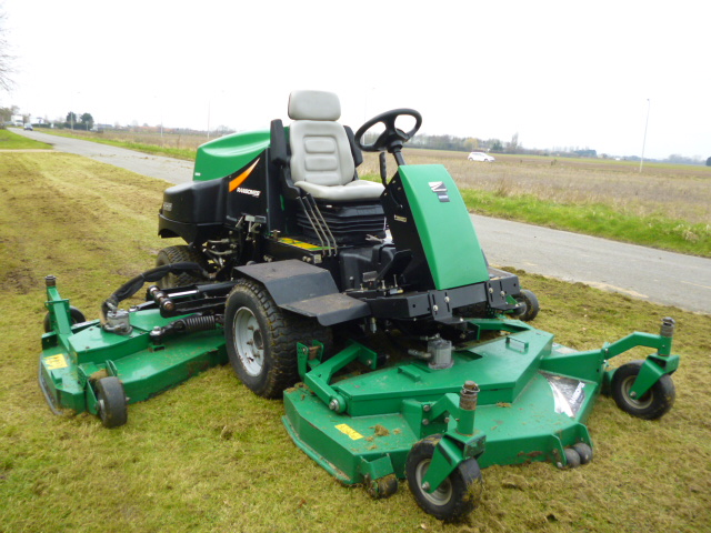 SOLD!!! RANSOMES HR6010 BATWING MOWER DIESEL