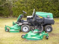 SOLD ! Ransomes HR6010 batwing  on mower diesel