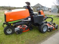 sold ! JACOBSEN AR3 POD TRIPLE DIESEL MOWER