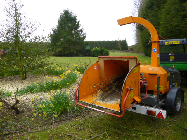 Sold Jenson A528 Wood Chipper Tow 6 For Sale Fnr Machinery
