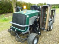 sold ! HAYTER L424 RIDE ON GANG CYLINDER MOWER