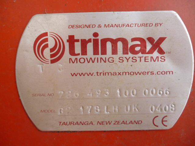 SOLD!!! TRI MAX PEGASUS S2 493 3 ROLLER MOWER