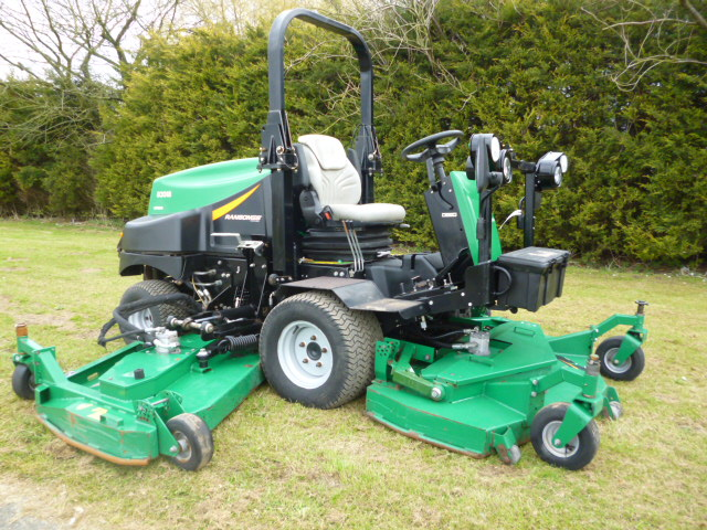SOLD!!!  RANSOMES HR6010 BATWING RIDE ON DIESEL MO