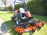 SOLD!!! JACOBSEN HR4600 TURBO TRIPLE MOWER