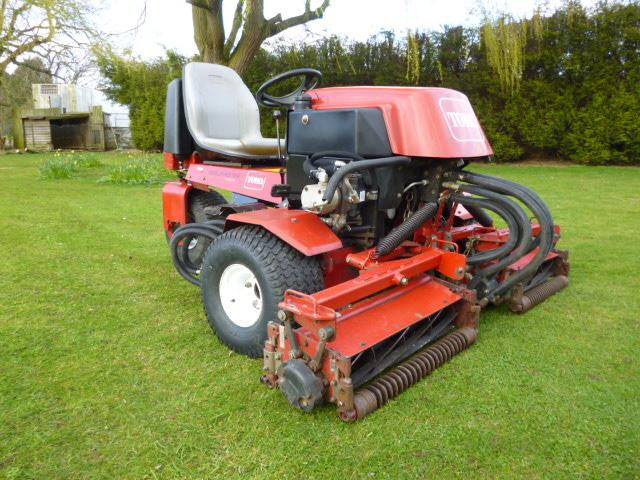 Toro Finish Mower : Toro tees mower diesel for sale fnr machinery