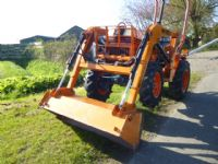 SOLD!!! KUBOTA B1750 COMPACT TRACTOR LOADER