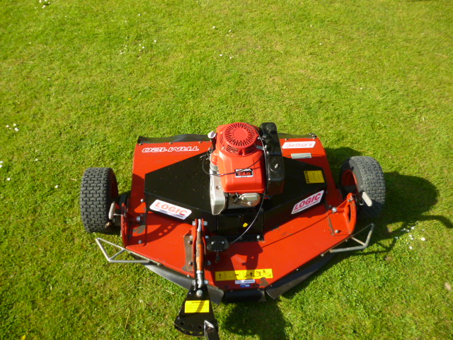 sold ! LOGIC TRM 120 ATV TOW MOWER