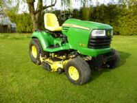 JOHN DEERE 740 54 DECK MULCH RIDE ON MOWER