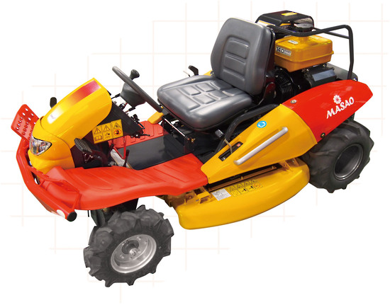 Canycom CM1401 2 WD Mower ALL TERRAIN RIDE ON