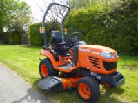 sold ! KUBOTA BX2350 HOURS 610 5FT RIDE MOWER