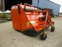 sold ! MURATORI FLAIL COLLECTOR USED MOWER