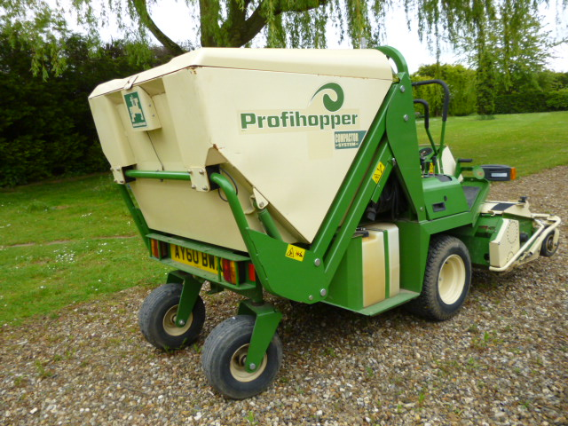 SOLD ! AMAZONE PROFIHOOPER ZERO TURN FLAIL MOWER