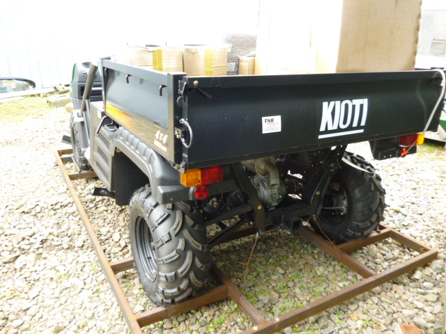 KIOTI MECHRON 4X4 NEW DIESEL RIDE ON UTILITY