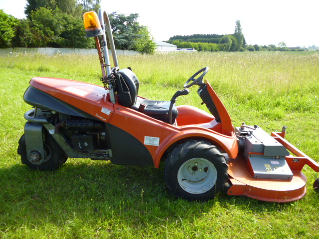 sold ! AEBI TERRACUT TC07 MOWER WITH ATTACHMENTS